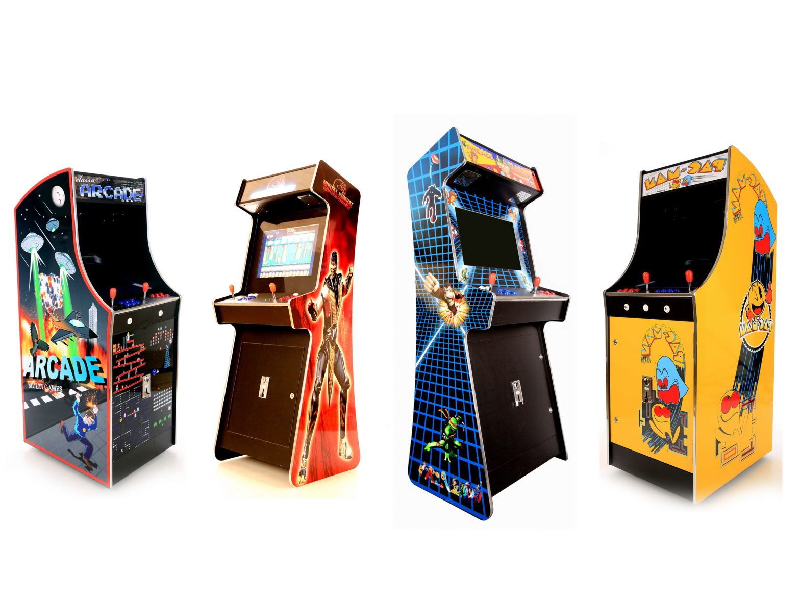 Arcade kasten huren